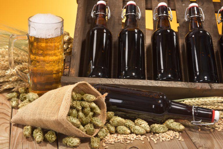 malt barley yeast hops ingredients