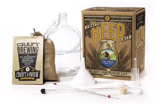 1 gallon complete beer making kit