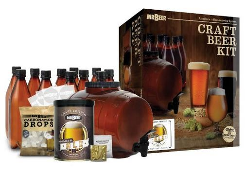 Mr beer complete kit premium gold edition