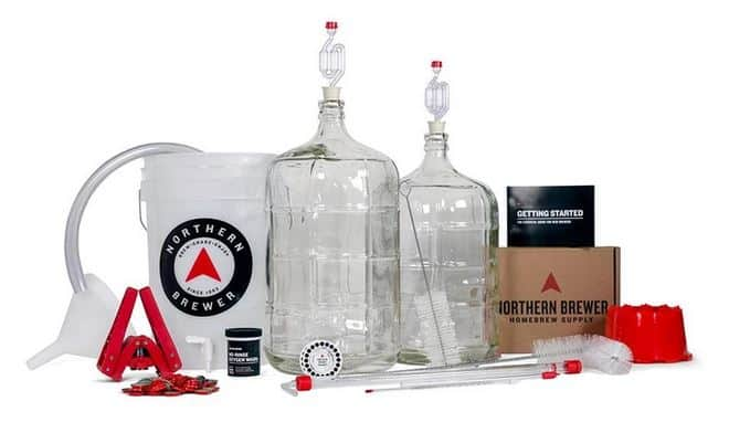 Northern brewer deluxe beer brewing kit