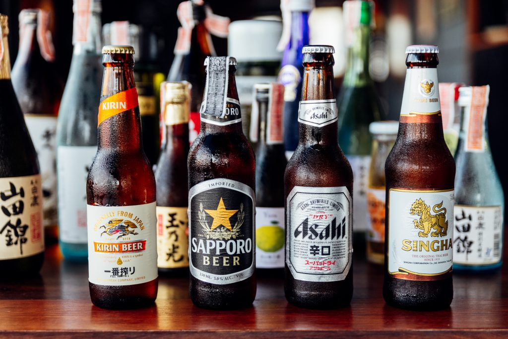 a picture of japanese beer styles