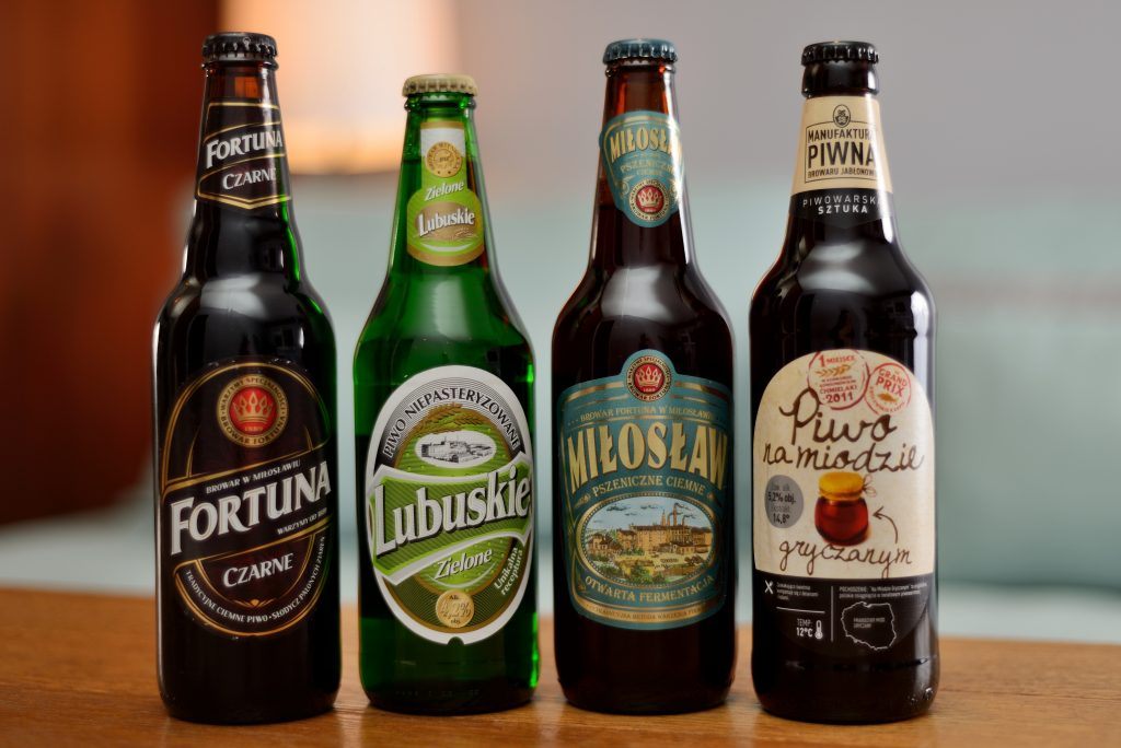 Picture of polish beers