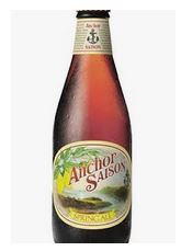 anchor saison spring ale beer bottle