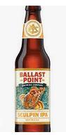 ballast point sculpin ipa beer bottle