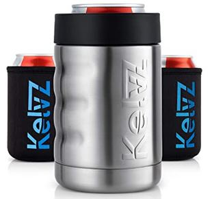 kelvz stainless can cooler