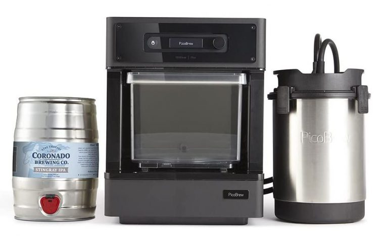 picobrew pico c brewing machine