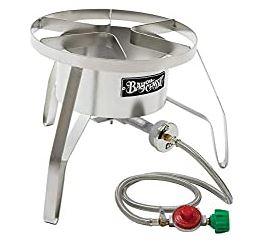 bayou classic stainless steel propane burner
