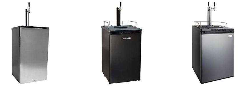 Picture of kegerators for home use