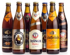 collection of german beer brands