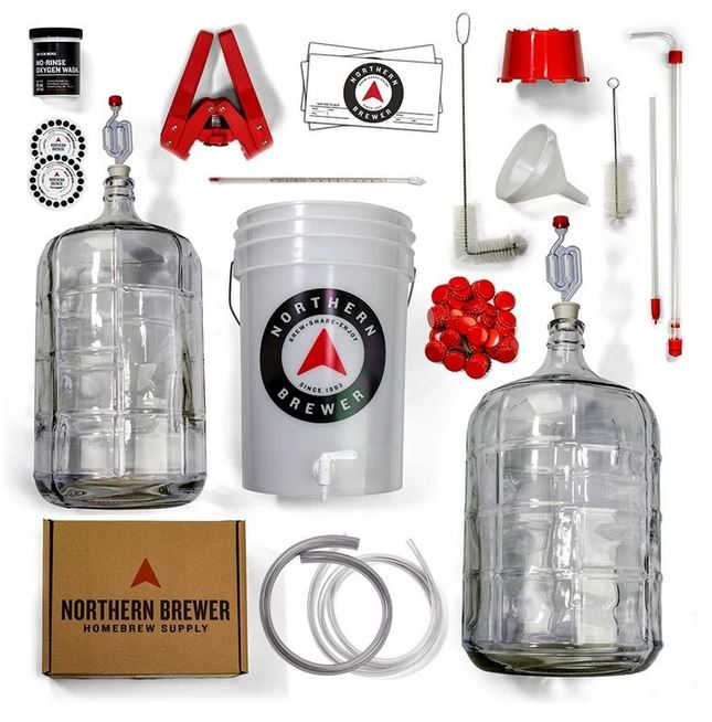 northern brewer deluxe beer kit parts