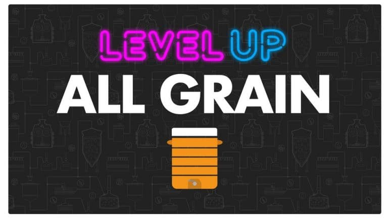 level up all grain brewing course