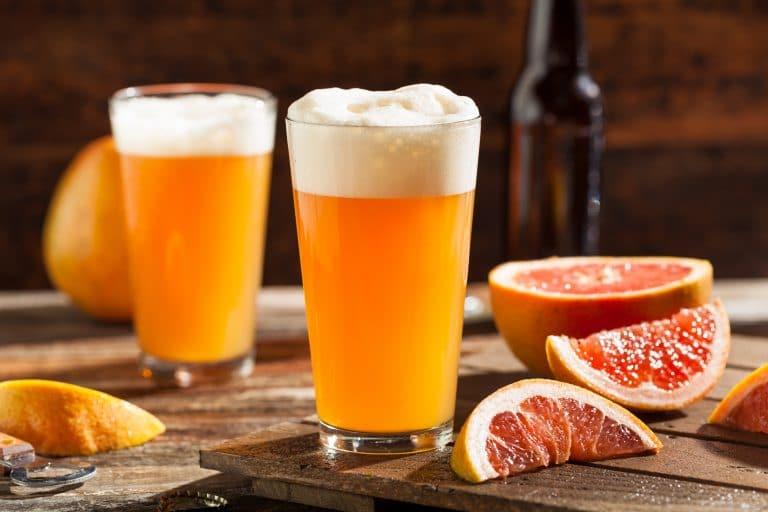 sour grafefruit craft beer
